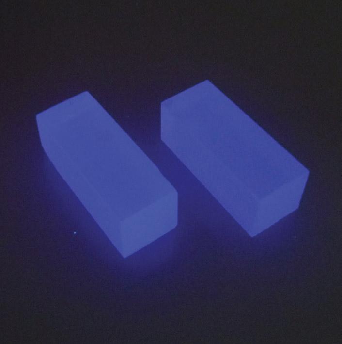 clyc scintillator crystals uv