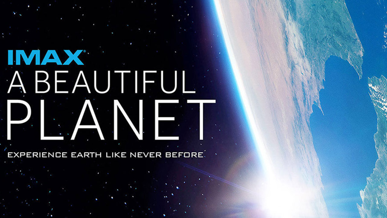 imax beautiful planet poster