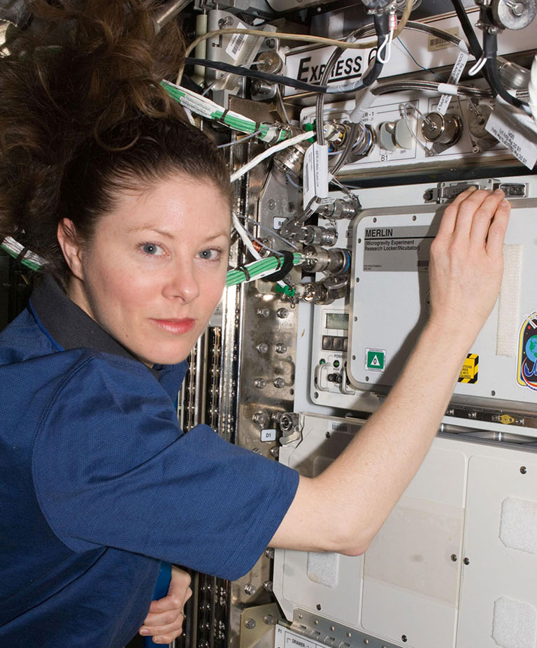NASA astronaut Tracy Dyson MERLIN