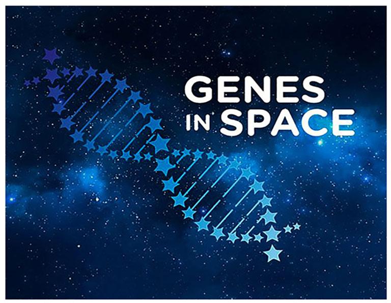 genes in space bluelogo