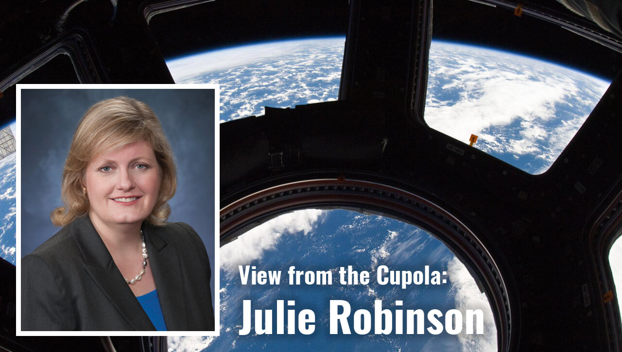 view from cupola julie robinson corner