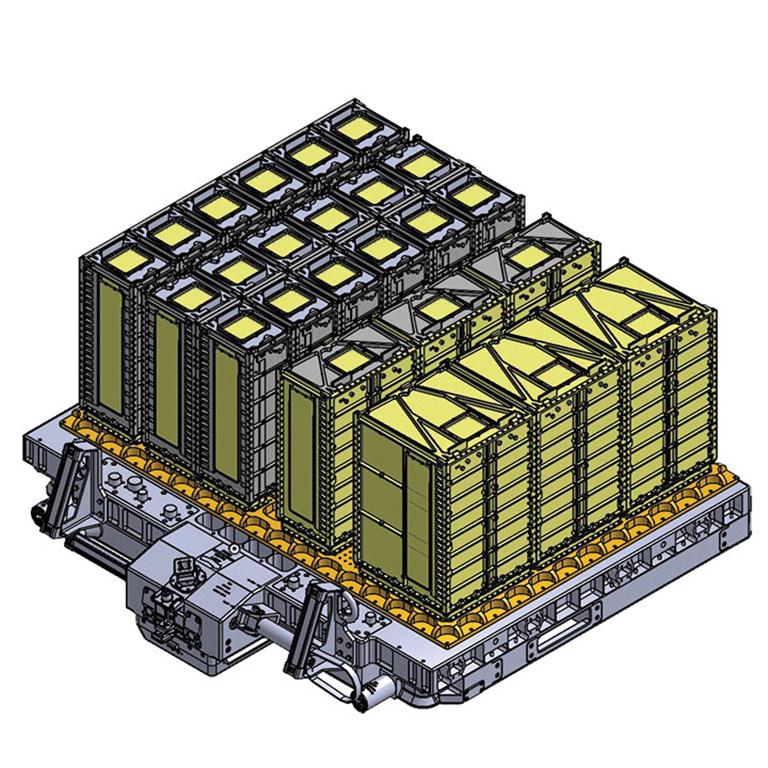 cad design rm3s deployer upward