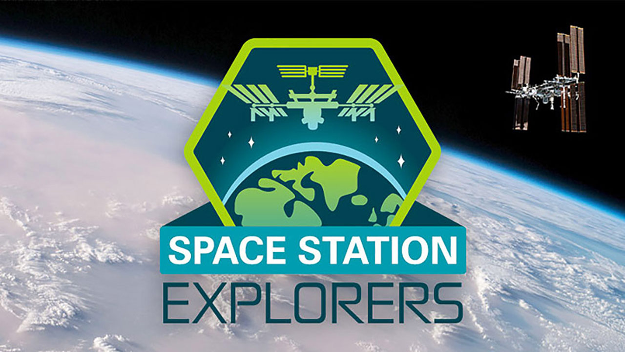 space station explorers earth hook