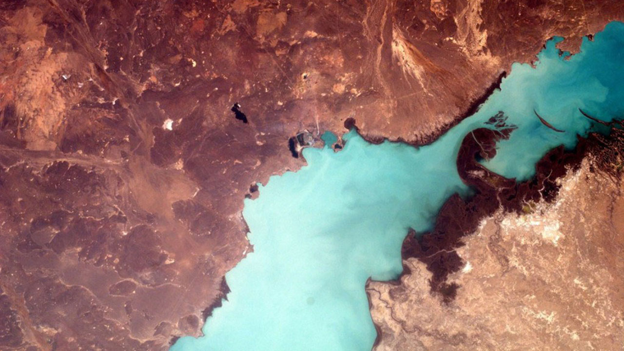 earthkam iss kazakstan