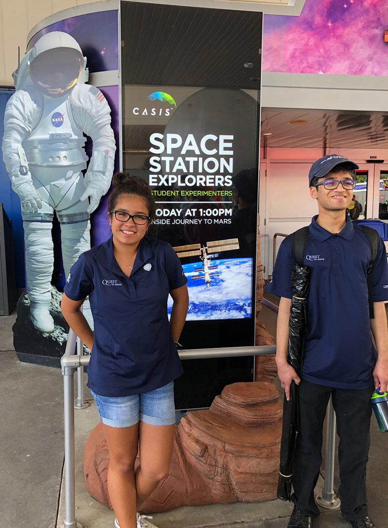 SpaceX 14 04 Jaylene Baltazar Mihir Kasmalkar