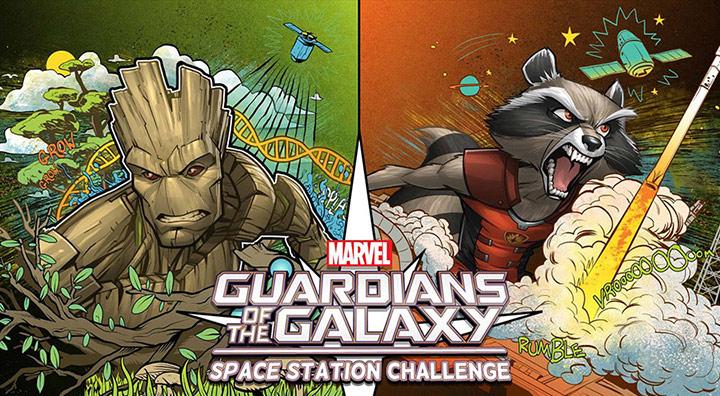 marvel casis space station challenge