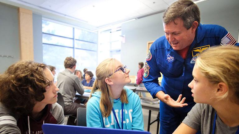 higher orbits astronaut classroom 1