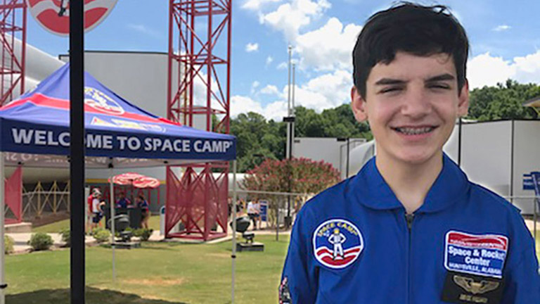 Bryce Hilliard SpaceCamp2