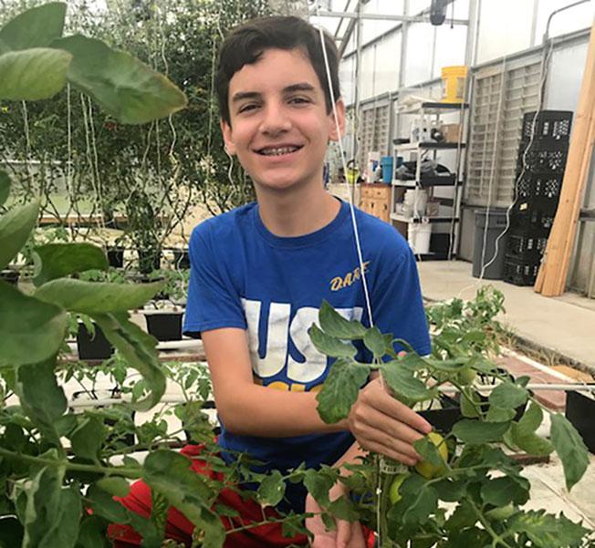 Bryce Hilliard Tomatosphere hydroponic2