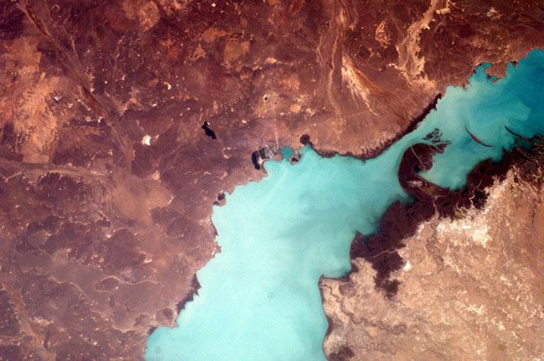 lake balkhash kazakhstan