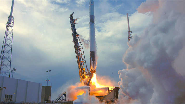 spacex crs 14 launch NASA wide