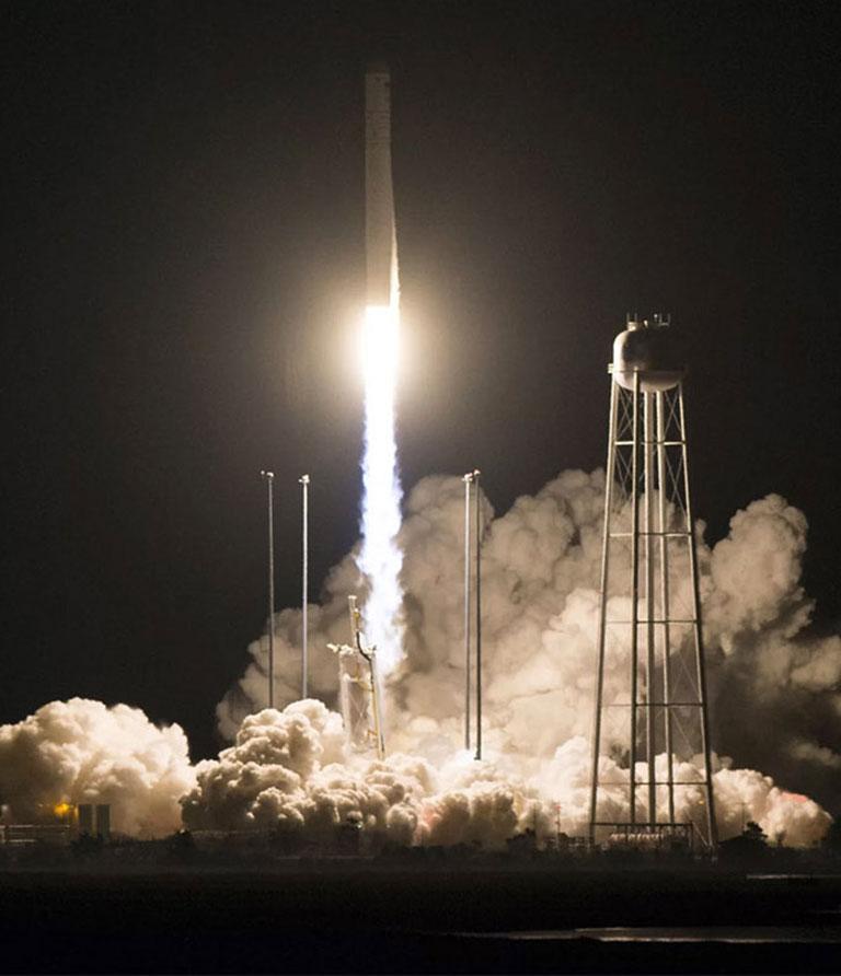 NG 10 rocket launch NASA JoelKowsky crop