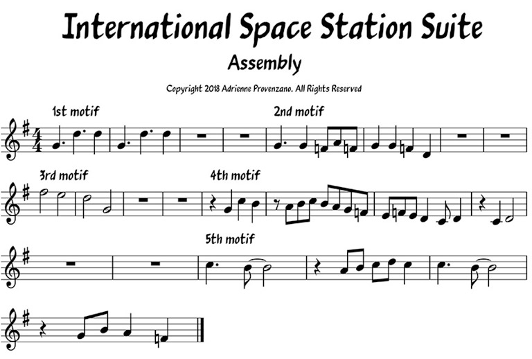 Assembly ISS Suite sheet music