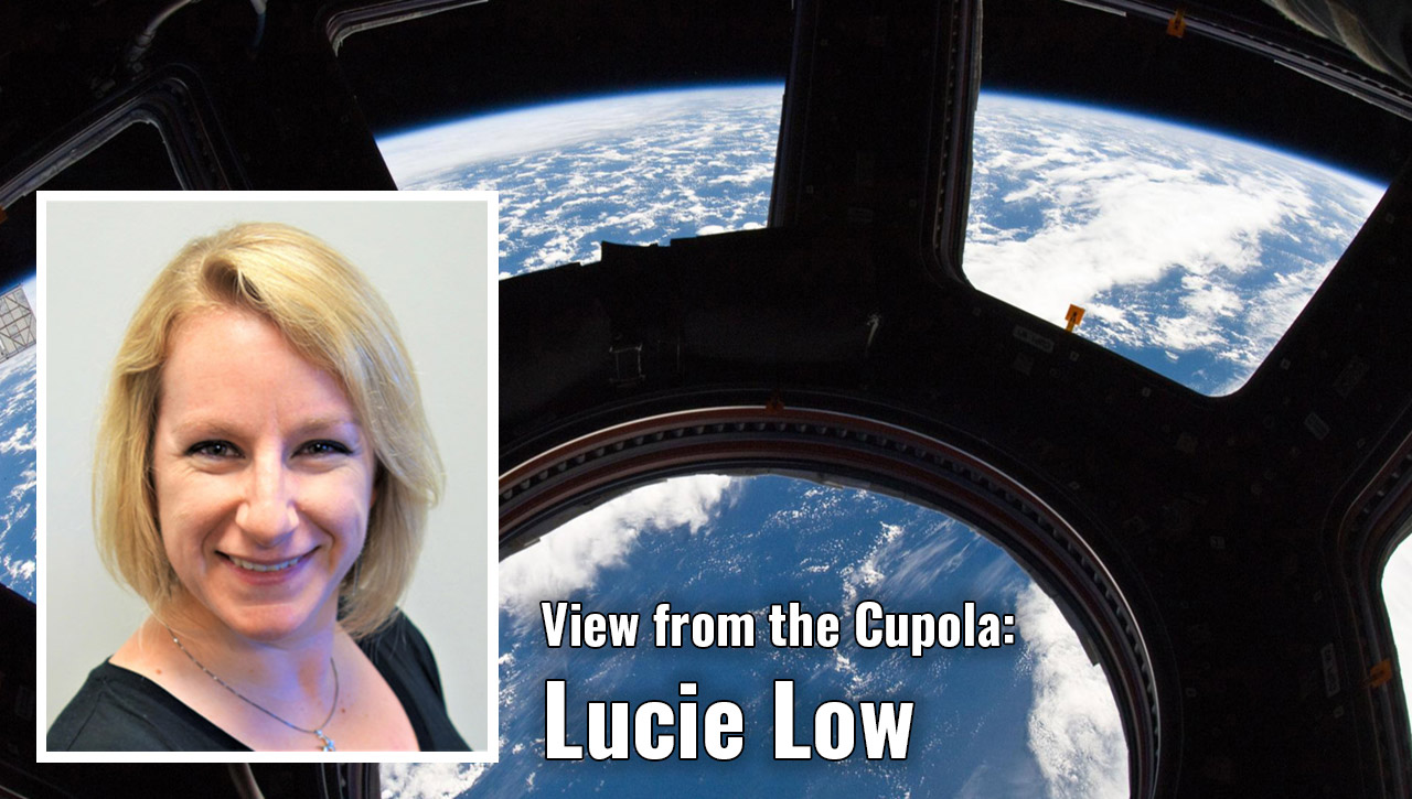 view from cupola lucie low