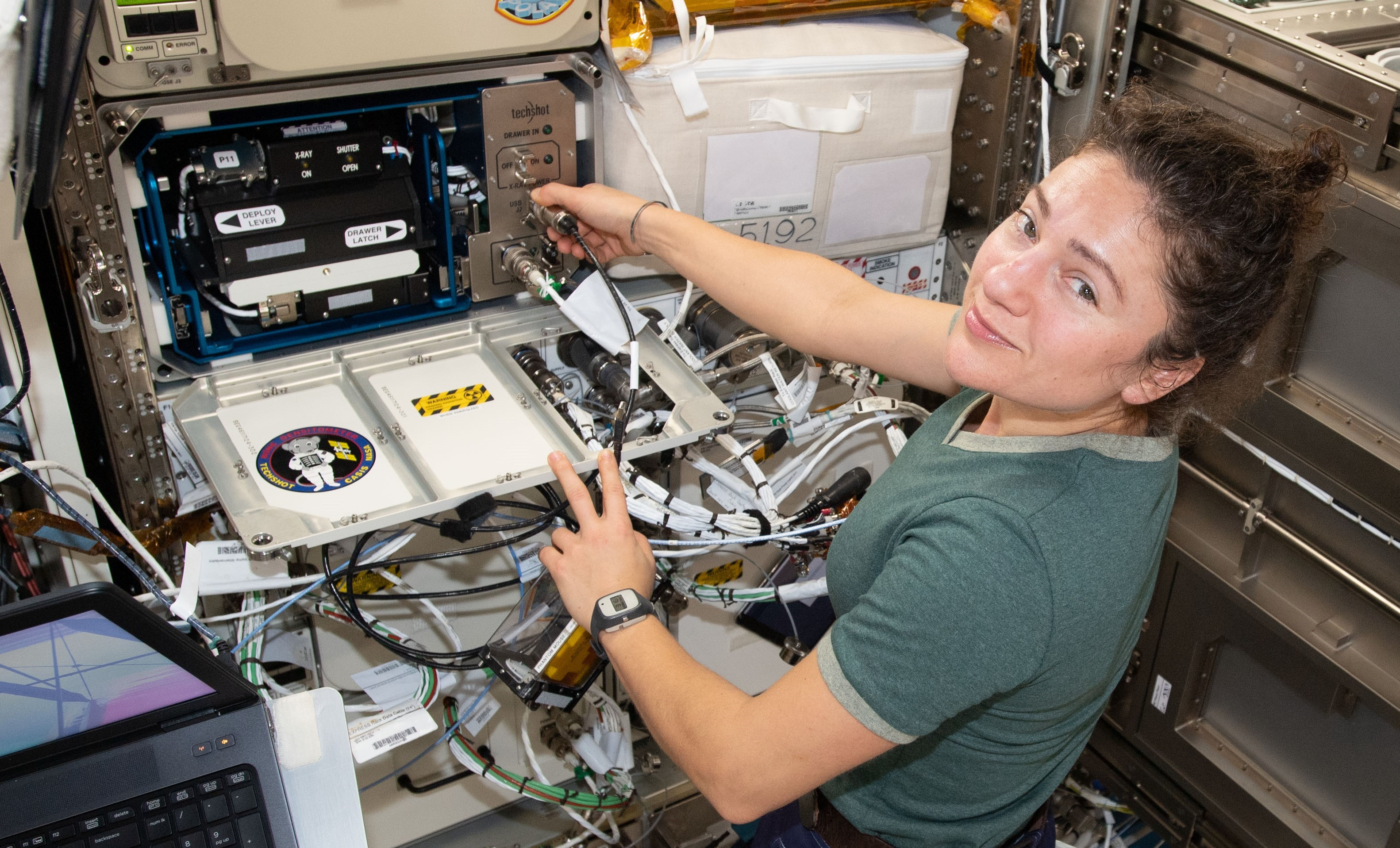 Mighty Mice payload on ISS fixed