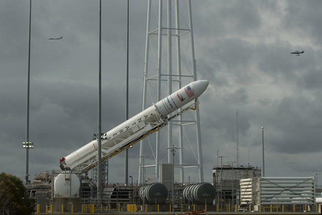 antares raised vertical oacrs8