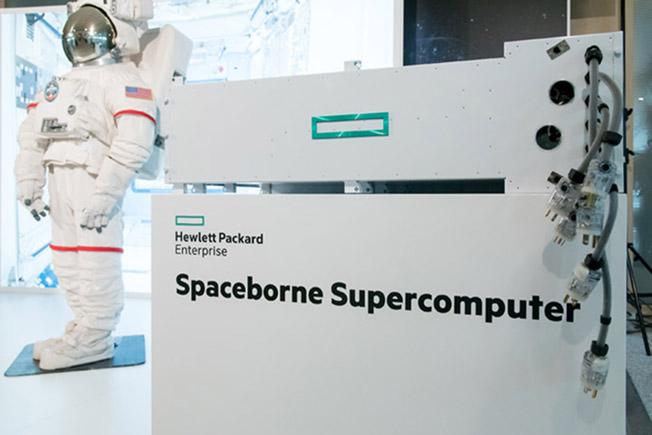 hpe spaceborn computer astronaut