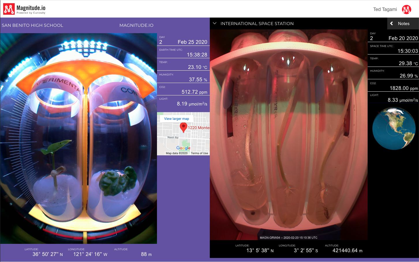 magnitude io screenshot ExoLab 7