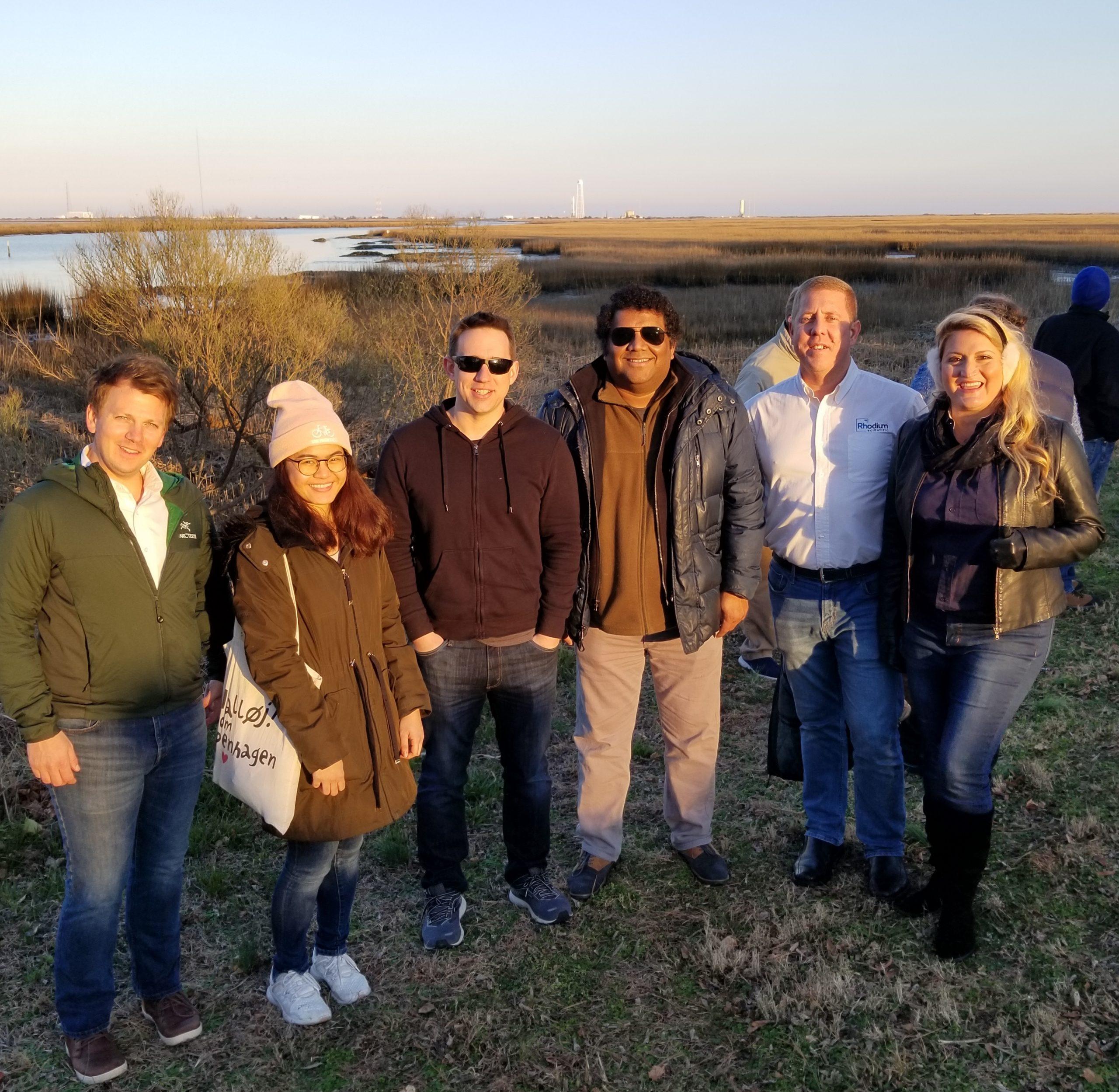 rhodium scientific Launch Site Group Photo scaled