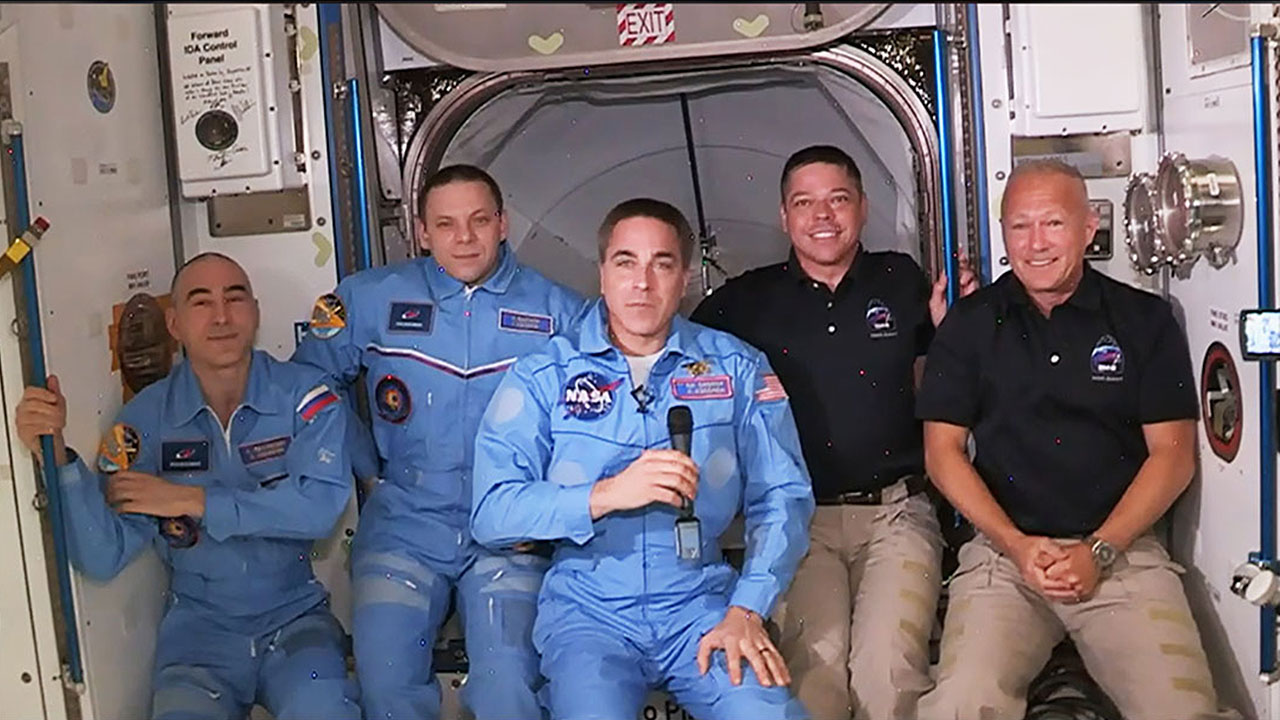 SpaceX Demo-2 Astronauts Get to Work on Space Station Science