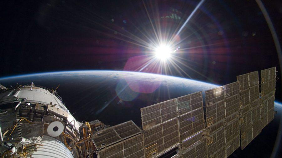 Sun Over Earth NASA ISS e1633981709909