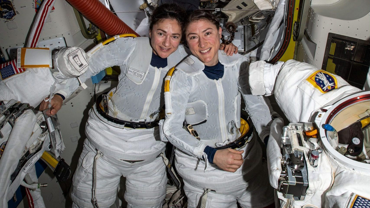 koch meir all woman spacewalk