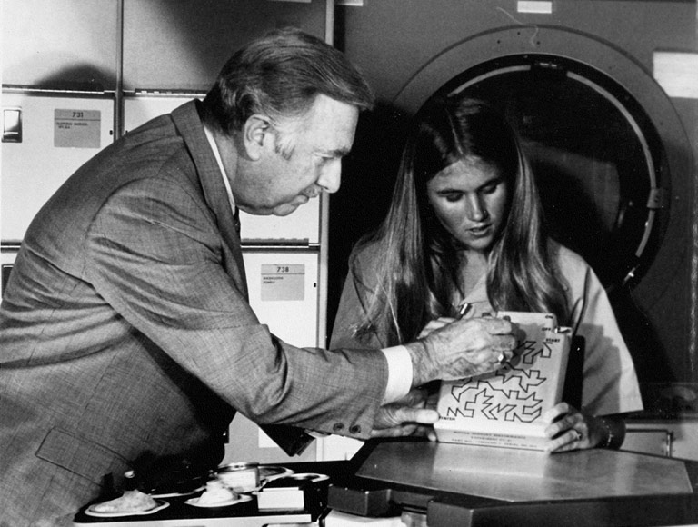 Skylab student Walter Cronkite NASA 1