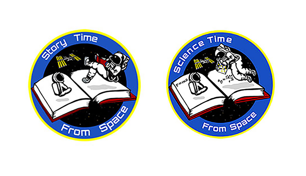 science story time from space logo