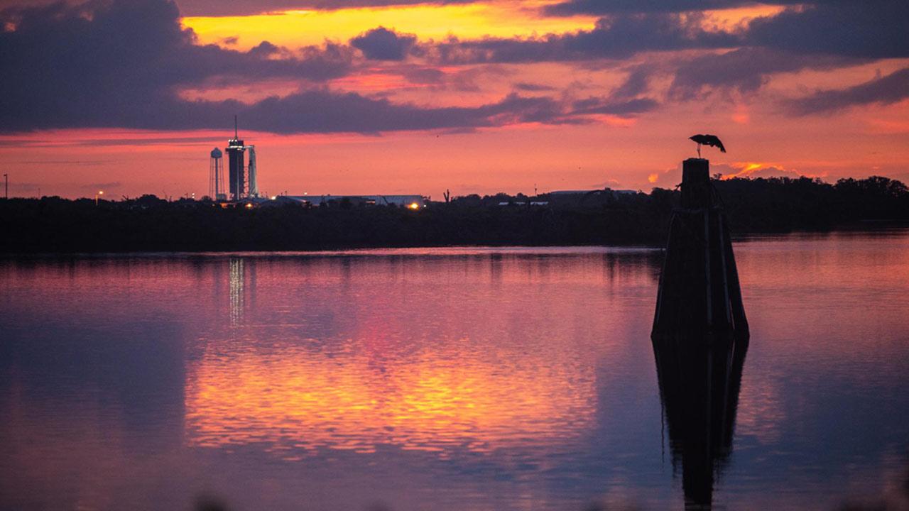 crew1 sunrise