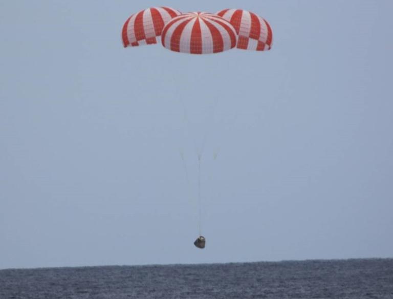 SBC 1 return parachute