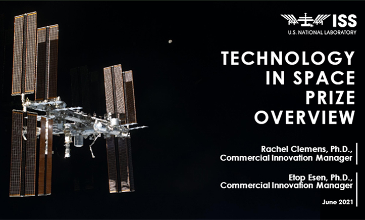 tech in space presentation screenshot