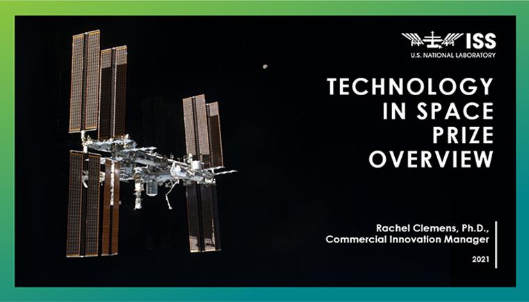 Tech space slide screenshot2021