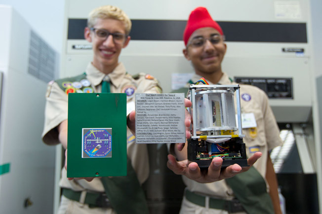 CRS 12 Boy scout Payload