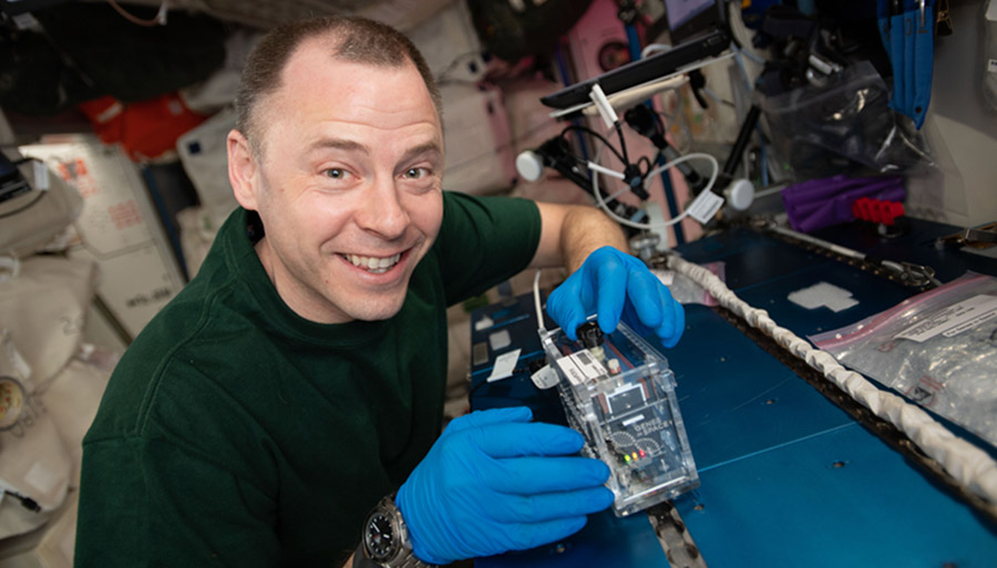 Genes in Space Experiment Successfully Uses CRISPR-Cas9 Technology to Edit  DNA