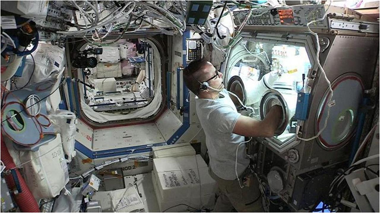 Joseph Acaba LaunchPad Medical ISS 1