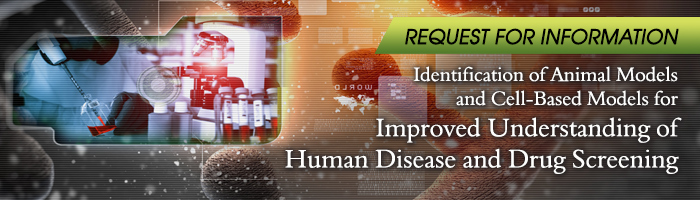 RFI banner 2014 10 disease models casis