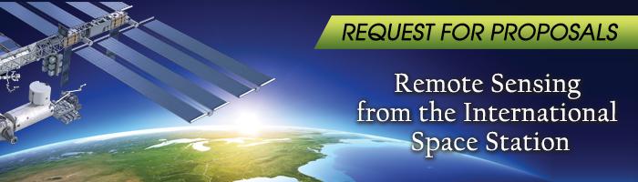 RFP banner remote sensing