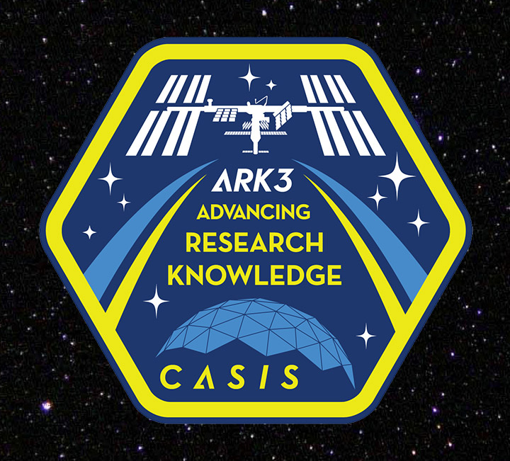 casis ark3 mission patch