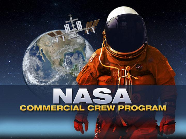 commercial crew program poster