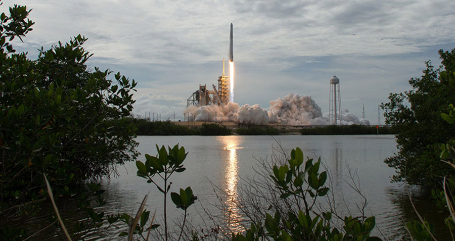 crs13 launch across river1a