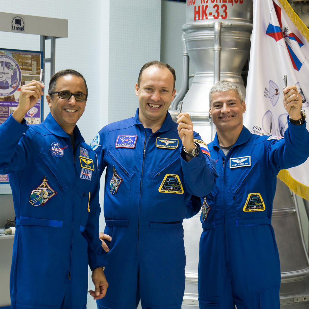 expedition 53 crew launch keys