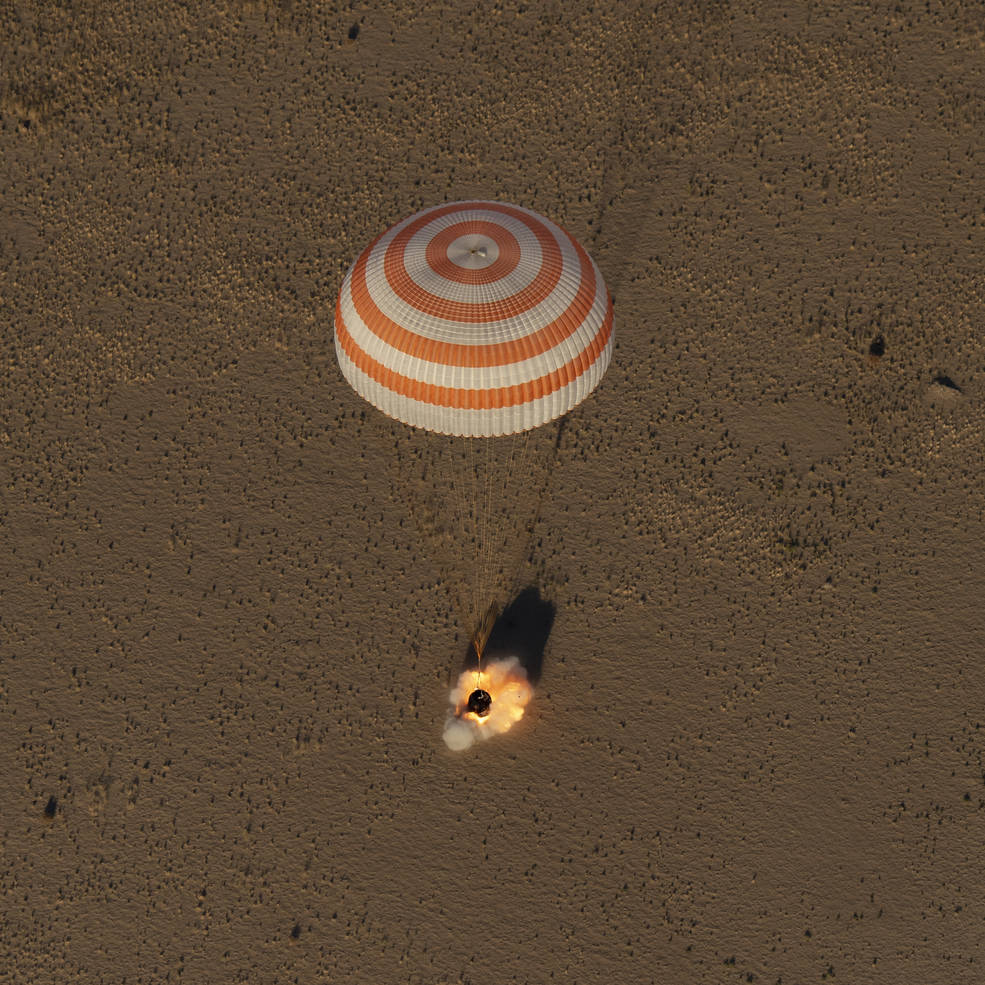 expedition 56 landing 181004