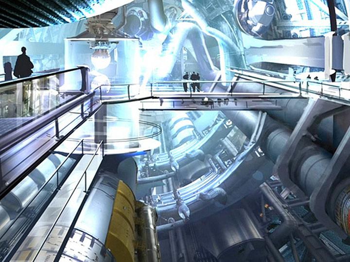 futuristic space center 1