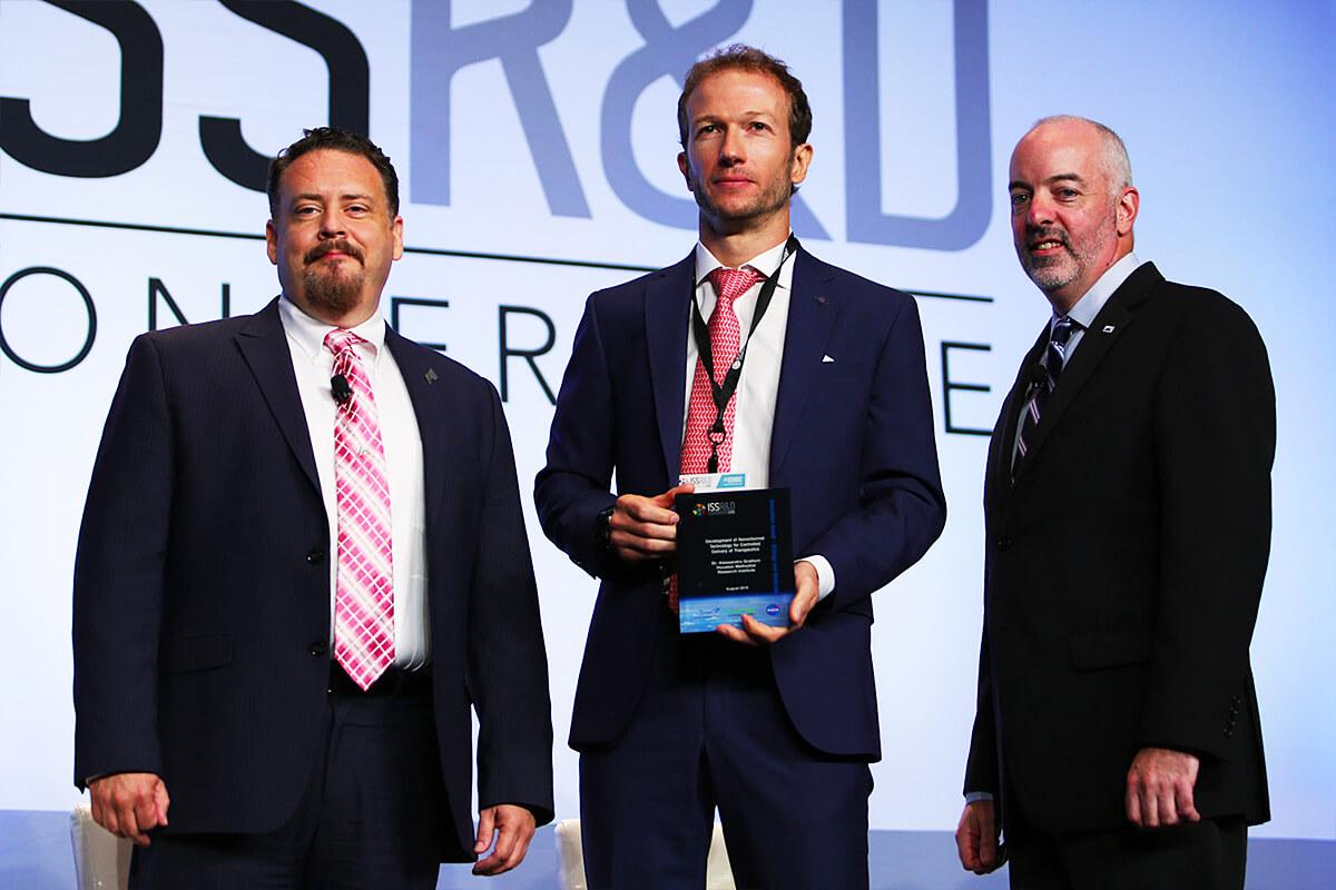 grattoni issrdc 2019 award hook
