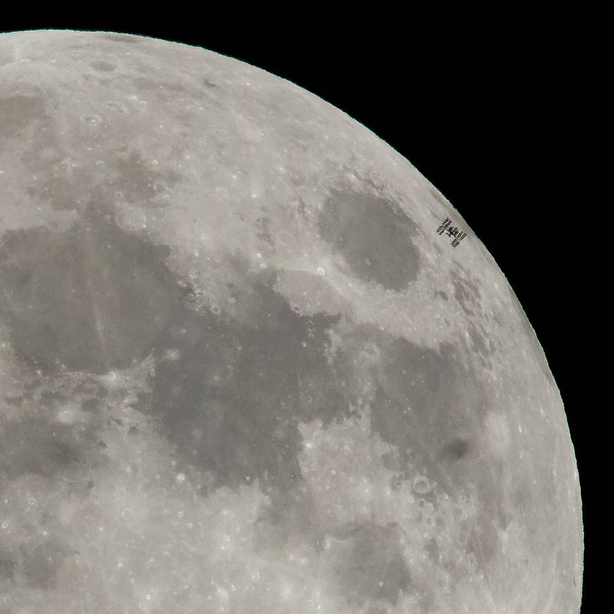 iss transits moon 1
