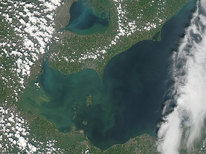 lake erie algae blooms