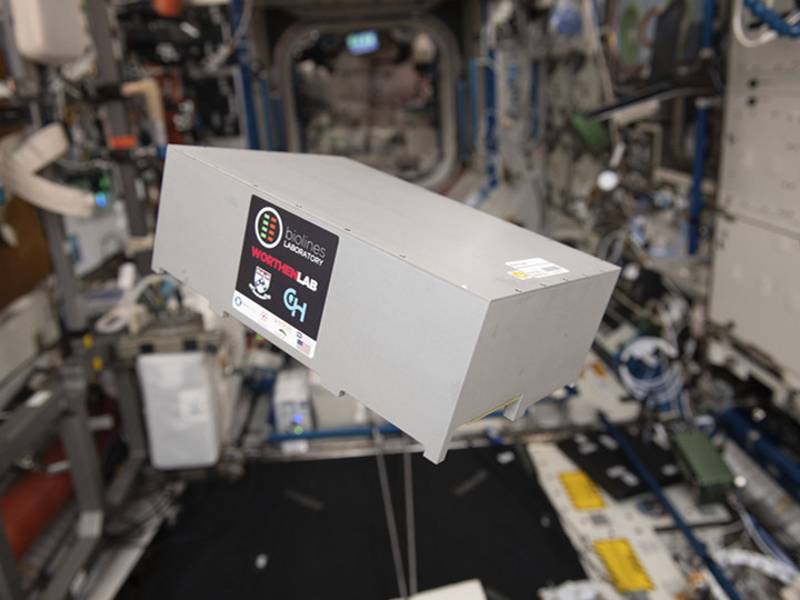 lung host payload onstation