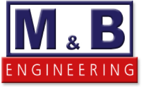 m and b logo