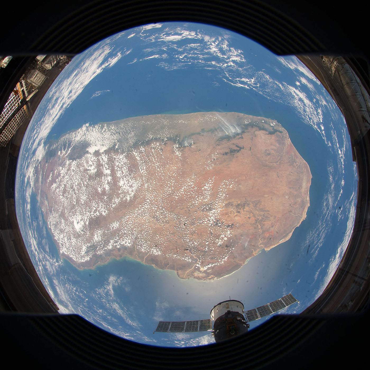 madagascar from space