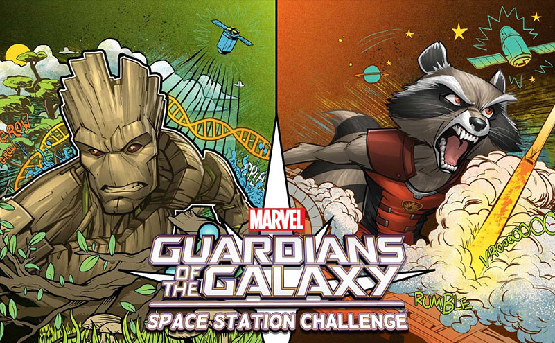 marvel casis space station challenge slide 1